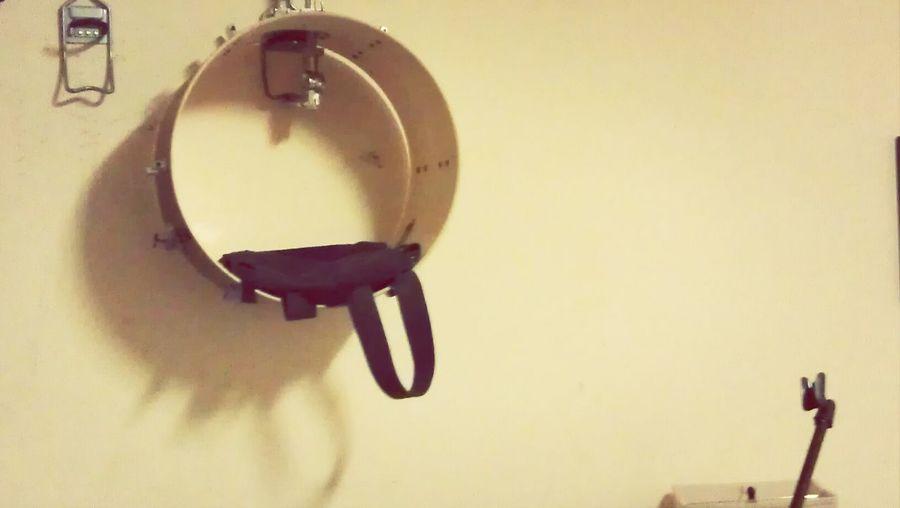 my new bass drum hanging shelf Music Photography