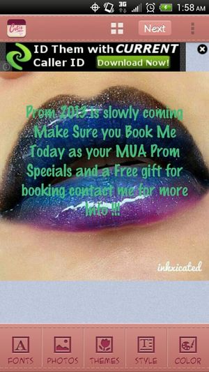 make Sure you tell a friend to tell a friend to Book with me