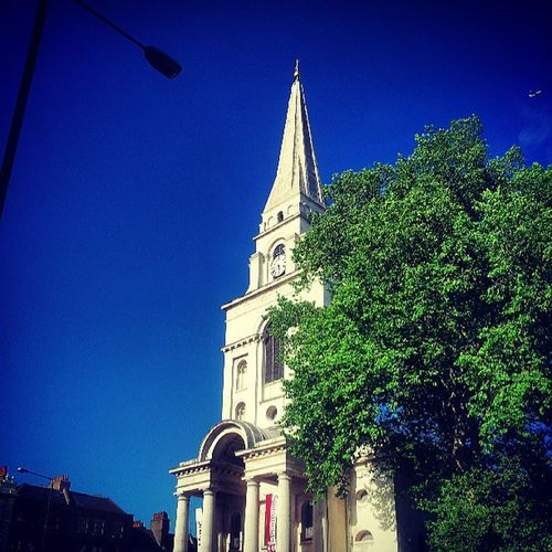 Christchurch Christchurchspitalfields From  Hell hawksmoor