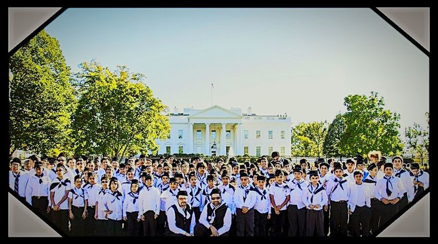 Being Ahmadi is cool. Went To White House