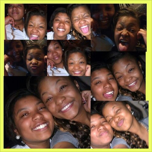 just hanging up with my baby, YES we stay clowning lmao (: Cooling with Kinfolk doee..