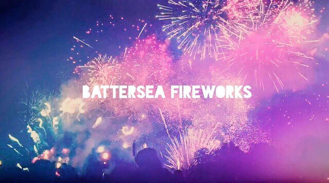 A magical display of fireworks in Batterseapark Batterseaparkfireworks Fireworks Text Firework Display Outdoors Guyfawkes