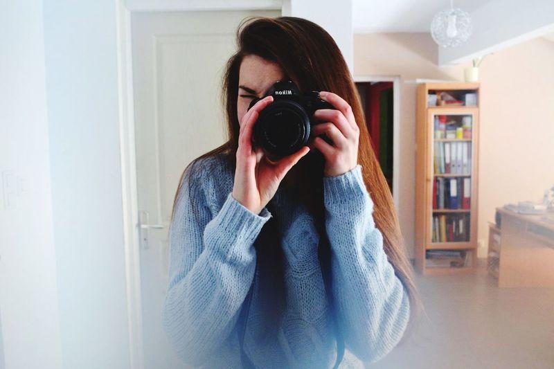 Myself Snow Day Nikon Taking Photos