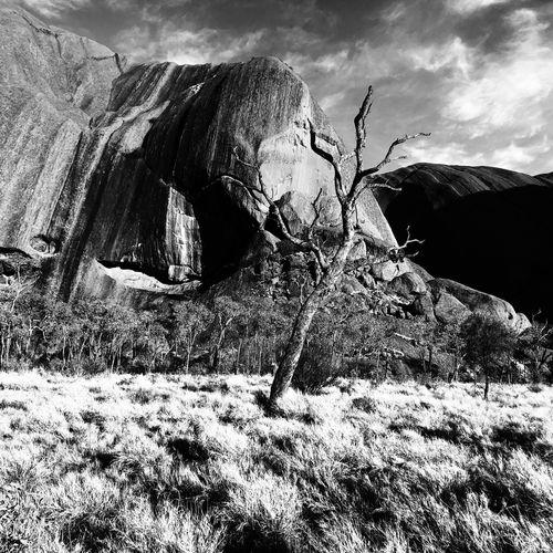 Ularu, NT, Au Black & White Blackandwhite Ularu Sky Nature Land Lifestyles