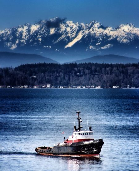 Boats on the Puget Sound. Pugetsound Puget Sound Seattle EyeEmbestshots