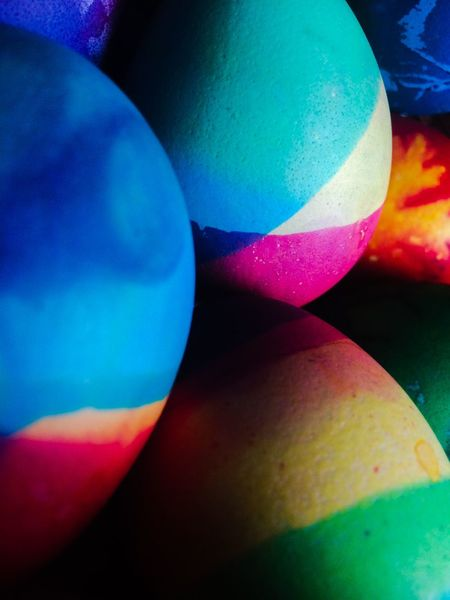 Easter Easter Eggs Egg Eggs Colors Colored Eggs Circles Pasqua великден Superposition Overlap Dyes EyeEm Selects