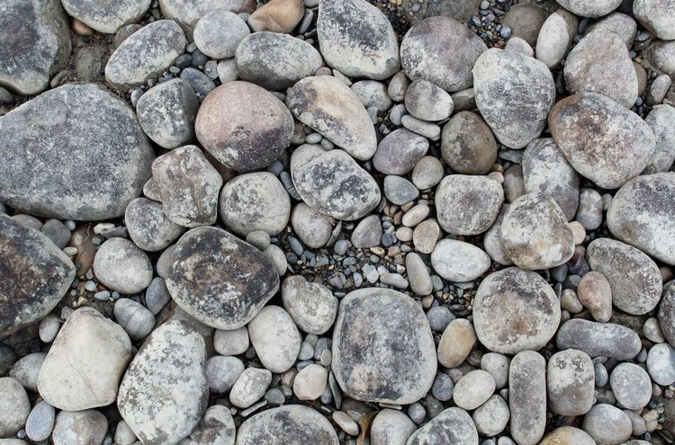 Backgrounds Close-up Full Frame Gray High Angle View Nature No People Outdoors Pebble Rock Rock - Object Rough Solid Stone Stone - Object Textured