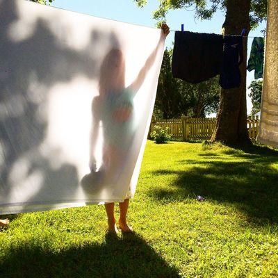 Taking care of the laundry. Gotland Sweden Visitsweden Swedishmoments