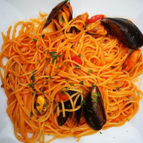 Food Food And Drink Ready-to-eat Freshness No People Plate Indoors  Close-up Healthy Eating Day Spaghetti Cozze Italian Food Vongole
