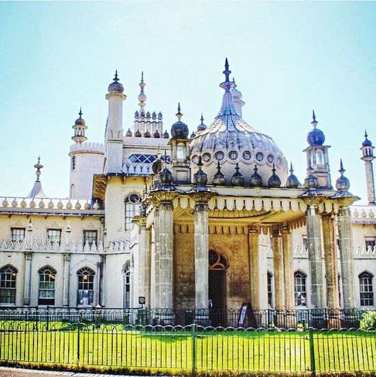 Royal Pavillon, Brighton The Architect - 2015 EyeEm Awards Wanderlust The Traveler - 2015 EyeEm Awards England EyeEm Best Shots Travel Photography Traveling Travel Architecture Hello World