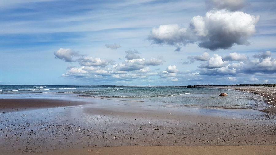 29.05.19 Vigsø beach where many bunkers of WWII can be seen and explored for some of them... Denmark Vigsø Denmark🇩🇰 Jutland Govisitdenmark Bestofdenmark Northsea Visitnordjylland Nordjylland Bunker Scandinavia Travel Water Wave Sea Beach Sand Blue Tide Seascape Coastline