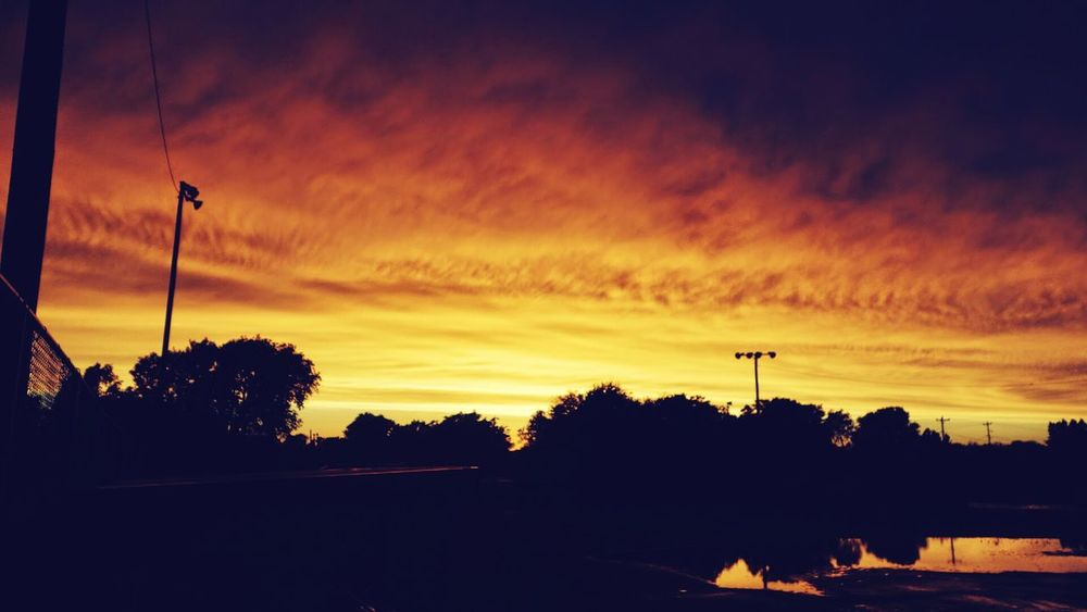 43 Golden Moments Sky Clouds Gold Sky Gold Oklahoma Sunset Beautiful Nature