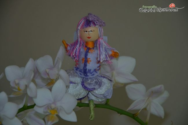 EyeEmBestPics EyeEm Best Shots Doll Flower Orchid Artesanal Artesanato Art Creative Arts And Crafts