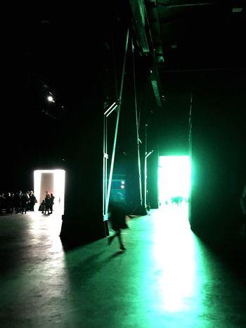 Running around Cinematic Movielike EyeAmNewHere Contemporaryart NeonArt Luciofontana Hangarbicocca Illuminated Indoors  Stage - Performance Space Arts Culture And Entertainment Stage Light Night EyeEmNewHere