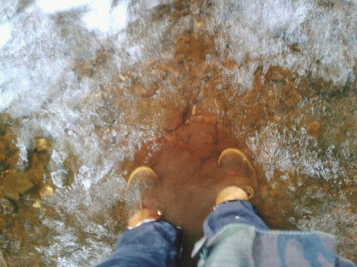 Water River Boots Myself High Angle View Outdoors Pointofview Person Looking Down Mud Makingasplash Riverside Photography Riverbank Riverbed Summer Serene Tranquility Action Action Shot  Nature Walking Around Outdoor Photography Water Surface Water Splash Waterporn