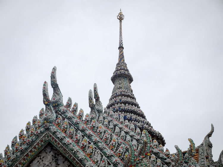 Architecture Culture Flowers Grand Palace Bangkok Thailand Place Of Worship Religion Spirituality Tradition