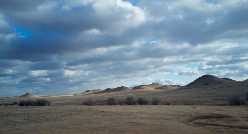 2-7-16 Arid Climate Cloud Cloud - Sky Cloudy Copy Space Dusk Exploring Geology Horizon Over Land Landscape MidWest Nature No People Non-urban Scene North Dakota Outdoors Physical Geography Remote Scenics Sky Tranquil Scene Tranquility Western North Dakota