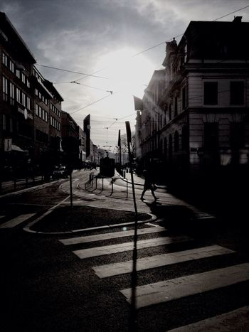 Sweden Gothenburg Street Photography Black And White
