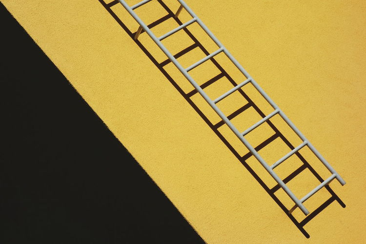 Abstract Built Structure Contrast Diagonal Lines Ladder Minimalism Simplicity Yellow The Week on EyeEm Editor's Picks Paint The Town Yellow The Graphic City Colour Your Horizn