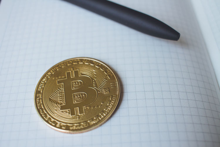 One bitcoin and