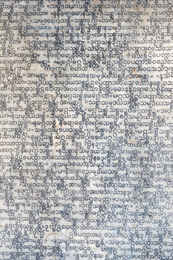 Full frame shot of text on paper