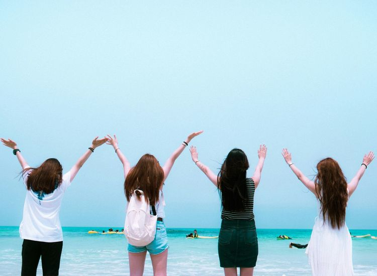 JEJU ISLAND  Hello World Enjoying Life Beach Life Is A Beach Friends Girls Eye4photography  EyeEm Best Shots EyeEm Korea