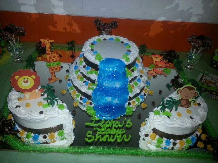 my god sons cake cant wait tell hes born