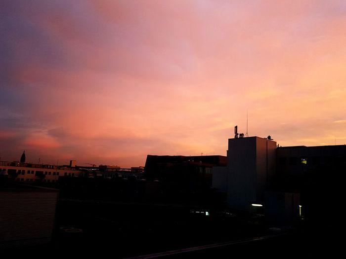 Sunrise Semesterbreak Sky Urban Skyline