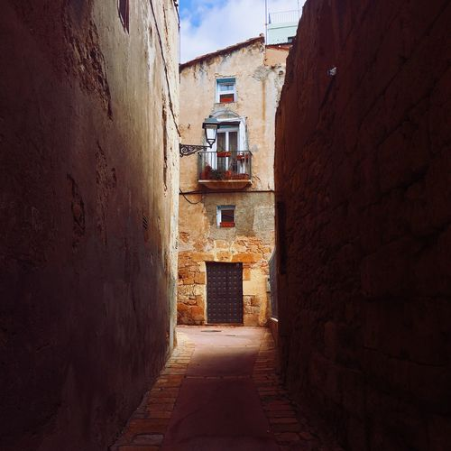 Street of Tarragona, Spain Architecture Built Structure Building Exterior No People Day Outdoors Tarragona Europe Old Town SPAIN Catalonia Street Picturesque