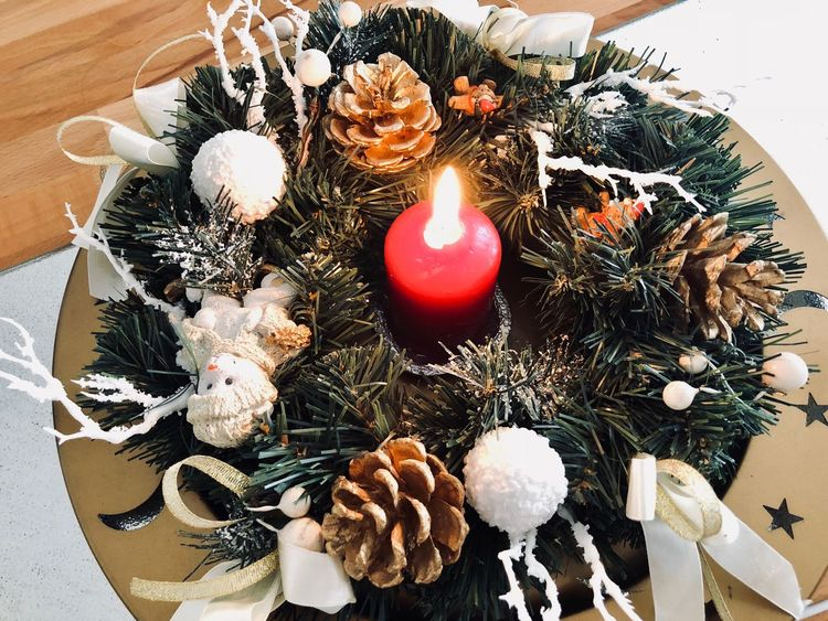 Advent // Christmas Time! 🎄 Winter Burning Candle Candlelight Candle Celebration Christmas Decoration Christmas Decoration Tradition Christmas Tree Indoors  Christmas Ornament Holiday - Event Cultures Celebration Event Table Illuminated