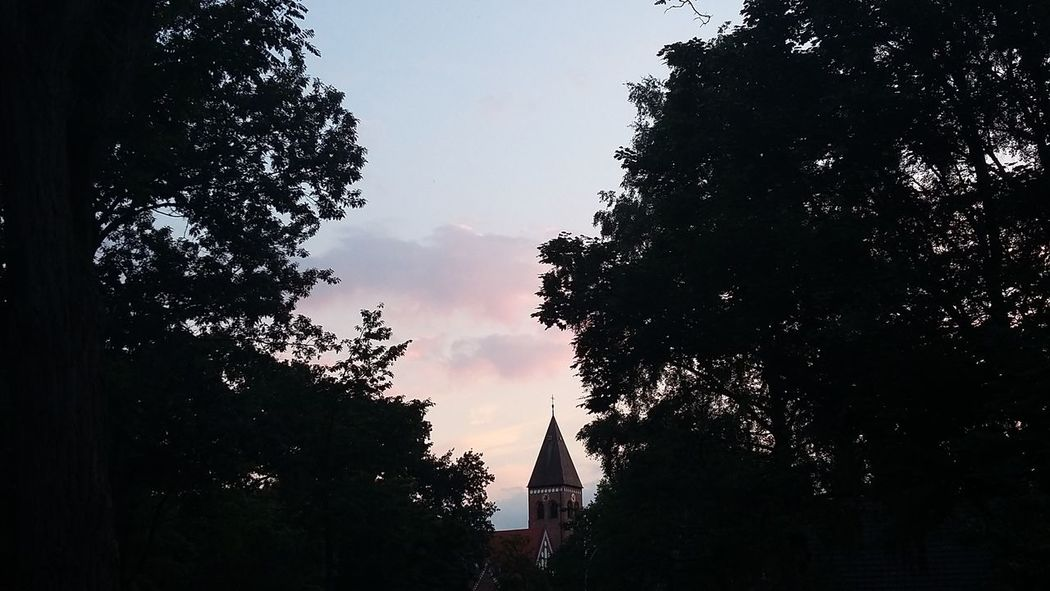 Nice evening and good night Sunset Iovehamburg Summer2016 July 2016 Hamburg Natue