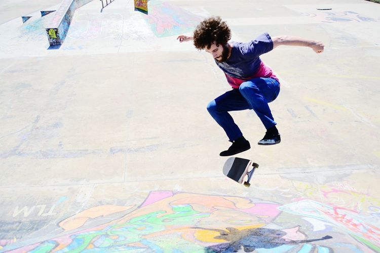 Second Acts Motion Skateboard Park Skateboard Skill  Extreme Sports People One Person Adult Jumping Full Length Vitality Sports Ramp Activity Young Adult Adults Only Only Women Youth Culture Human Body Part Sport Fun First Eyeem Photo
