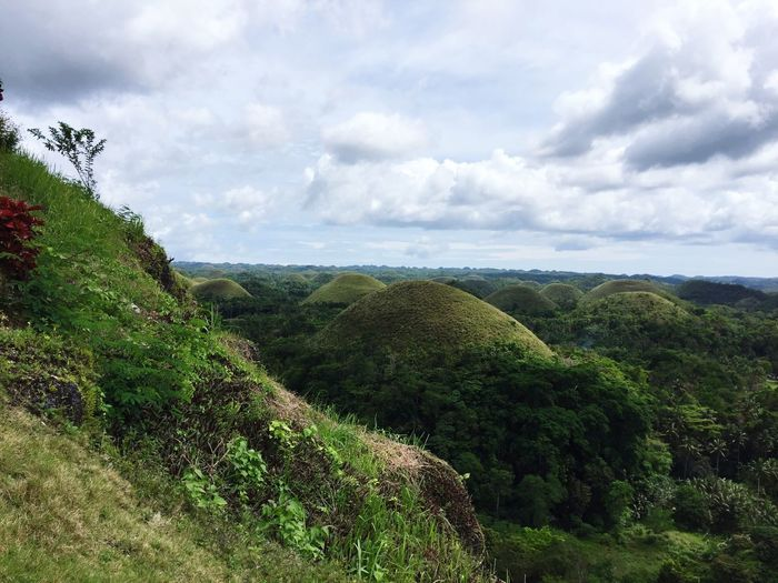 Chocolate Hills Bohol Cebu Philippines Travel Photography Nature Beauty In Nature Sky Travelphotography TravelPhotographer Traveladdict