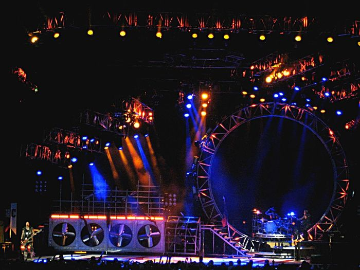 Mötley Crüe Concert Stage West Palm Beach Cruzan Amphitheater Concert Photography