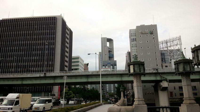 Umeda Taking Photos Osaka Japan Buildings