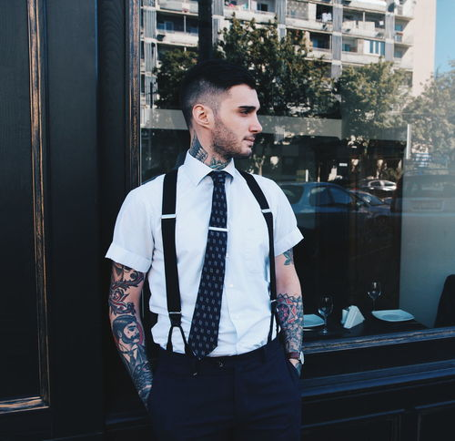 Adult Adults Only Arts Culture And Entertainment Business Business Finance And Industry Business Person Businessman Day Indoors  Lifestyles Men One Man Only One Person Only Men People Tattoo Tattoo ❤ Tattooed Tattoomodels Tattoos Young Adult