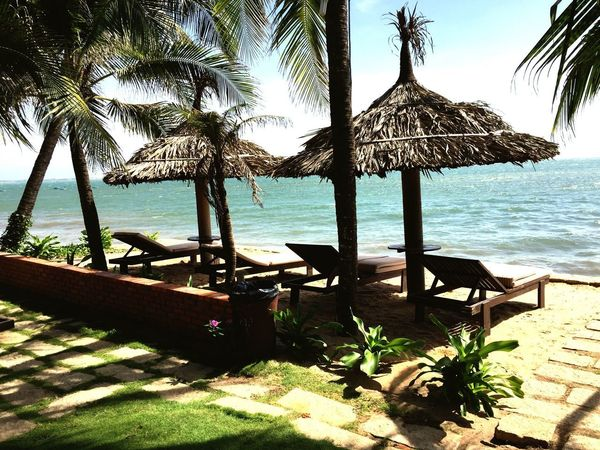 Tranquility Nature Beach Sea Tropical Tropical Paradise Tranquil Scene Horizon Over Water Water Sunlight