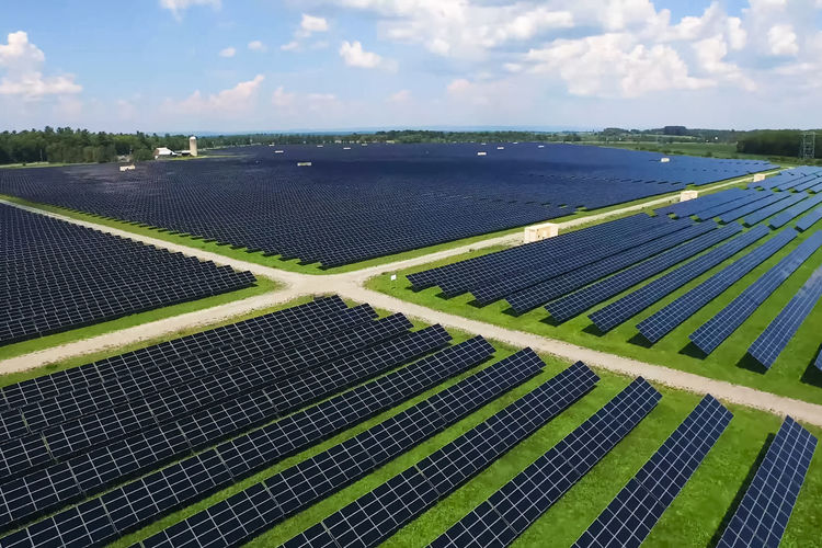 solar panels Sky Environment Nature Cloud - Sky Landscape Day Agriculture Environmental Conservation Field Scenics - Nature Green Color Land Renewable Energy Beauty In Nature Outdoors Alternative Energy Tranquility Tranquil Scene No People Sunlight Sustainable Resources Solar Panels