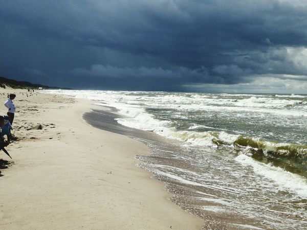 Beach Sand Sea Nature Travel Destinations Beauty In Nature Horizon Over Water