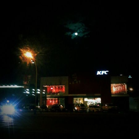 Late night out... Relaxing Taking Photos Enjoying Life Night Life Check This Out Hanging Out KFC Outdoors WindhoekCity