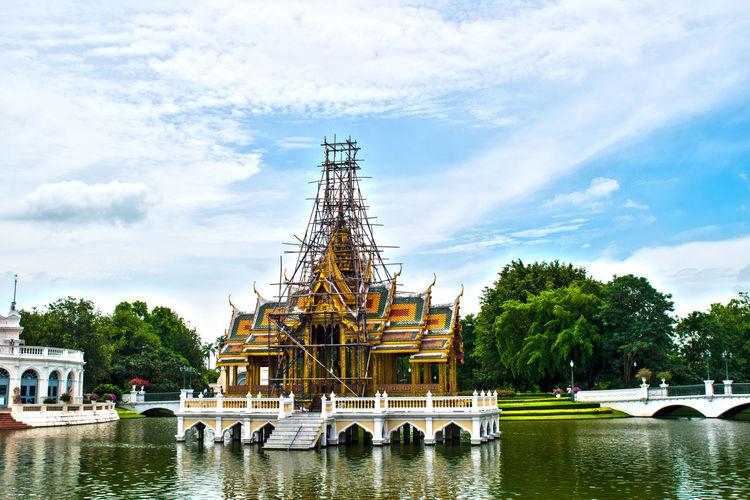 Architecture Architettura Ayutthaya Bangkok Colori Colors Oriente Residenza Estiva Thailand Thailandia