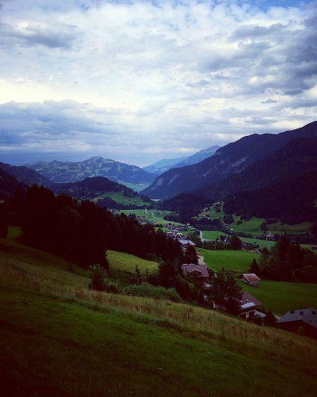 Mountain Landscape Cloud - Sky Beauty In Nature Nature