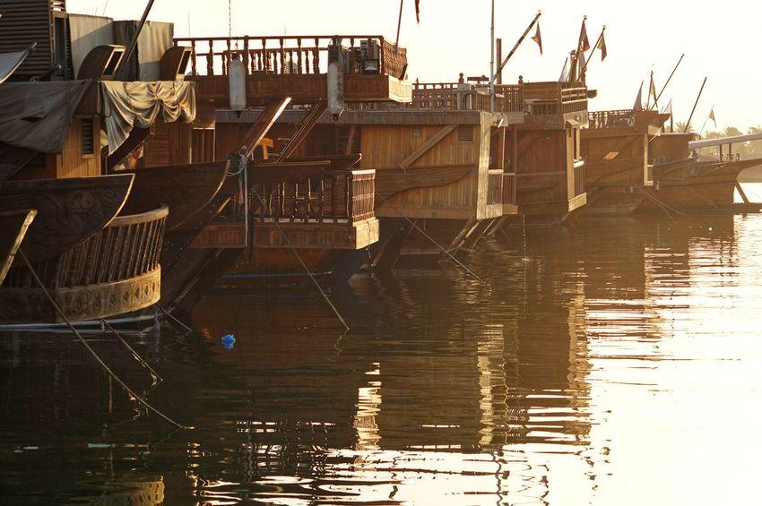 Sony A6000 A6000photography A6000 Sony Alpha Eyeem Philippines Dhow Boat Doha,Qatar Doha Corniche Qatar Outdoors Day Water No People Sea Sky