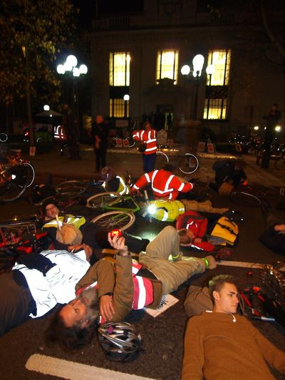 Stop Killing Cyclists. Vigil +Die-In. To honour cyclist killed by a heavy goods vehicle on Pentonville Road. Islington Town Hall. Upper Street. Islington. 08/11/2017 Stop Killing Cyclists Stevesevilempire London Cycling Campain Olympus Cycling Vigil Cyclist Protest Zuiko Politics And Government Cyclists London News Islington Protestor Protest Steve Merrick London