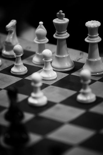 Chess Tournament Close Up Black And White 2016 Canon 180mm Lens High School Edit At Han chiang high school Penang Malaysia