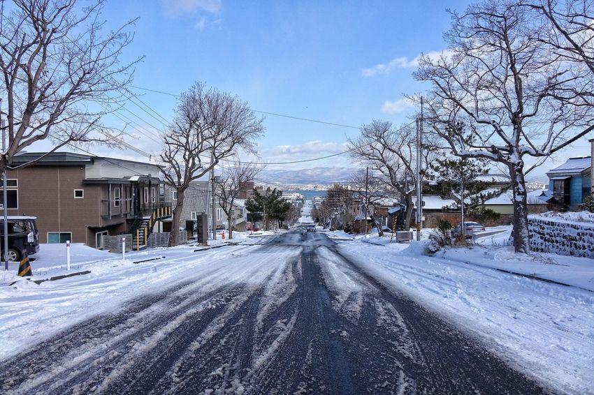 Snow Winter Cold Temperature Built Structure Weather Outdoors Hakodate Hakodate,Hokkaido,Japan