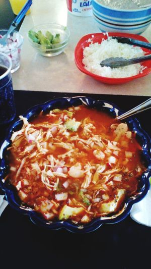 That's Me Eat Eat And Eat Pozole Jummy Friends ❤ Delicious ♡