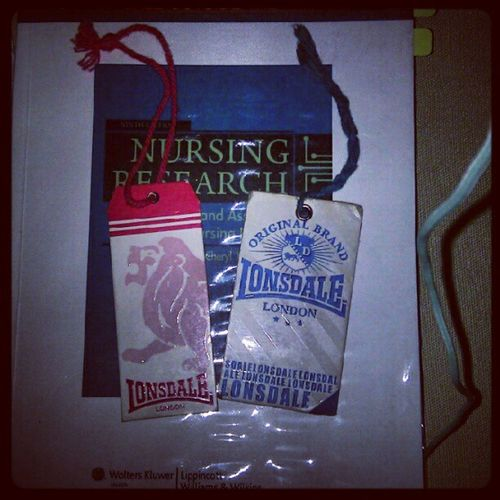 My bookmarks :P Lonsdale Tag Blue Pink