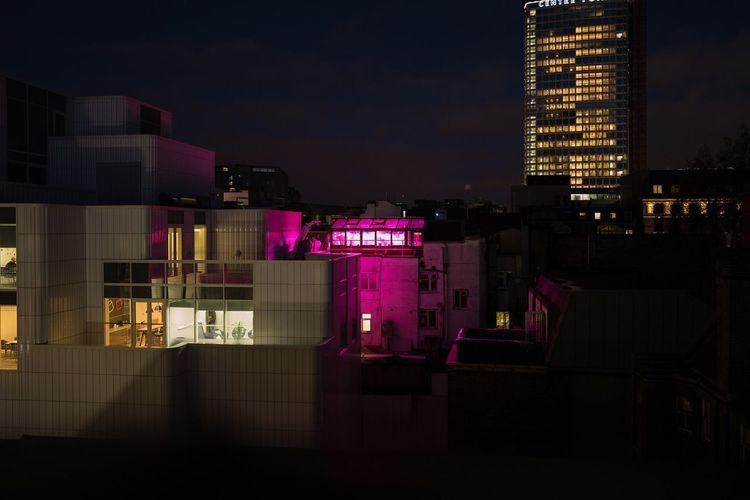 Night Architecture Illuminated Building Exterior Built Structure City Skyscraper Urban Skyline