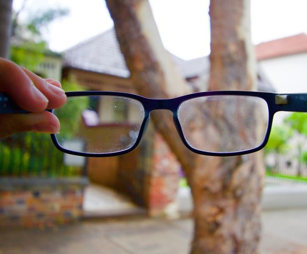Try a different perspective if you are ever confused Eyesight Close-up Outdoors Eyeglasses  People Dreams Ideas Vision